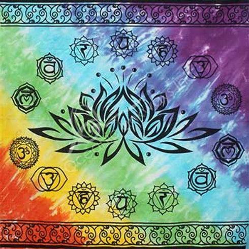 Lotus Chakra Altar Cloth