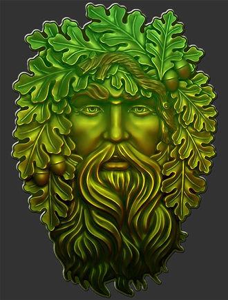 Pagan Nature Deity Green Man Shirt