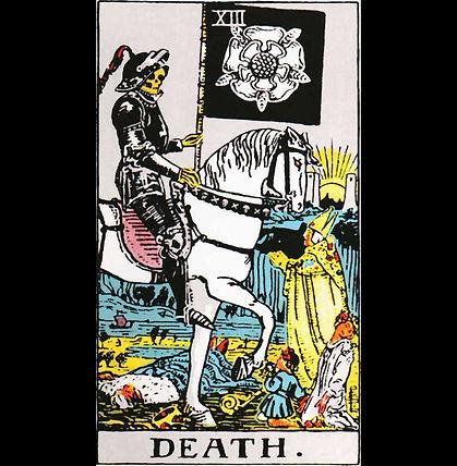 Death Classic Tarot Shirt