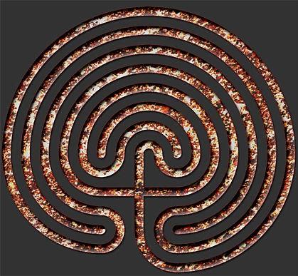 Minoan Cretian Labyrinth Shirt