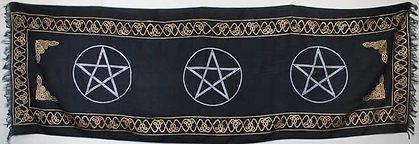 Long Three Pentagram Altar Cloth