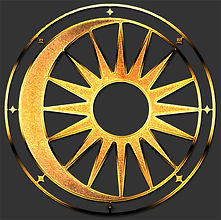 Pagan Spiritual Cosmic Balance Symbol Shirt