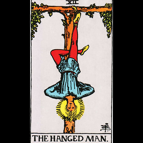 Hanged Man Classic Tarot Shirt
