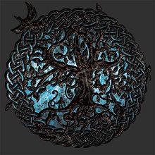 Ornate Norse Yggdrasil World Tree of Life shirt