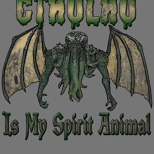 Lovecraft Cthulhu Is My Spirit Animal Shirt