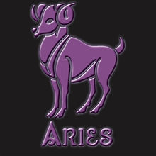 Aries Ram Symbol Zodiac Shirt