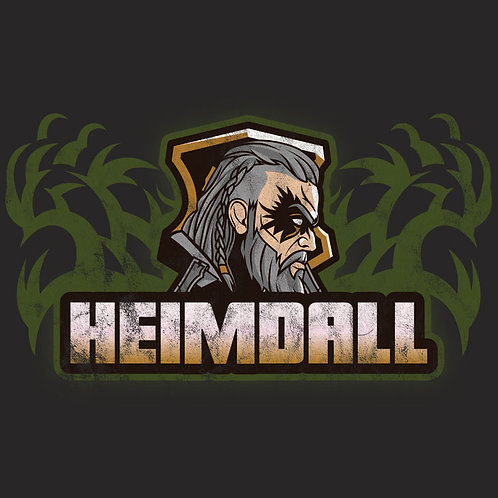 Vintage Distressed Norse  God Heimdall Shirt