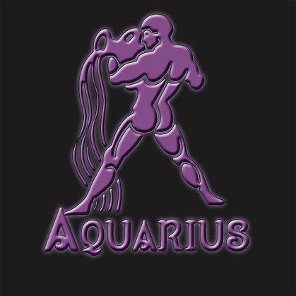 Aquarius Water Bearer Symbol Zodiac Shirt