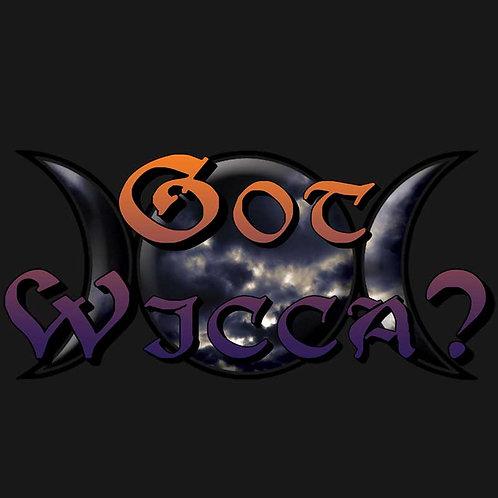 Got Wicca Pagan Wiccan Moon Goddess Shirt
