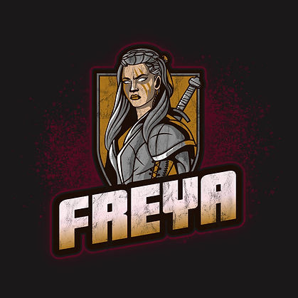Retro Vintage Freya Norse Goddess Distressed Shirt