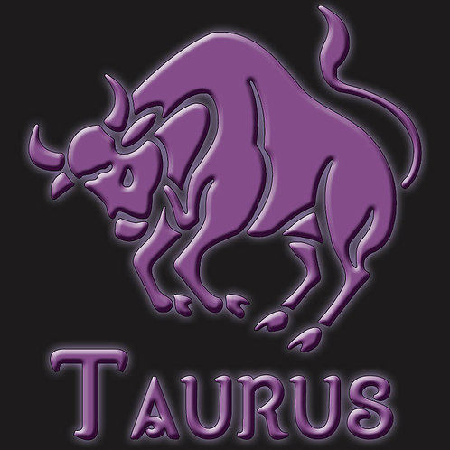Taurus Bull Symbol Zodiac Shirt