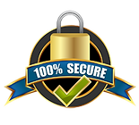 100% Secure Encrypted Checkout