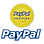 We also accept secure payments with your PayPal account