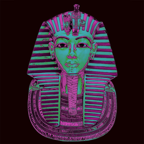 King Tut Tutankhamen Modern Art Deco shirt