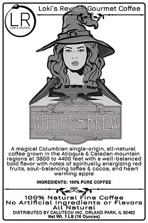 Witches Brew 100% Organic Coffee