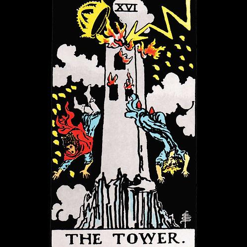 The Tower Tarot Shirt
