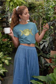 Triple Moon Goddess T Shirt