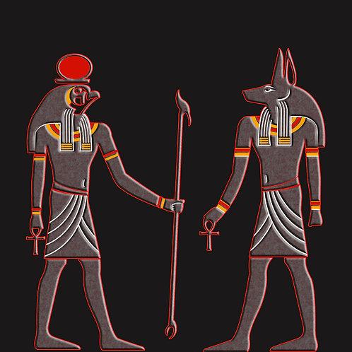 Egyptian Gods Anubis & Ra Shirt