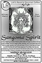 Sangoma Spirit 100% Organic Pagan African Blend Coffee