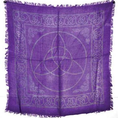Celtic Wiccan Triquetra Altar Cloth