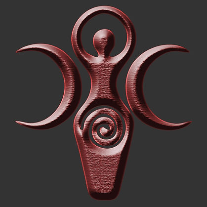 Wiccan Pagan Spiral Goddess Shirt