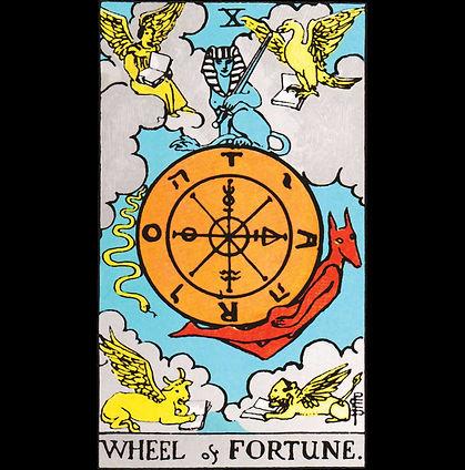 Wheel of Fortune Tarot Shirt