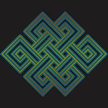 Buddhist Endless Knot Symbol Shirt