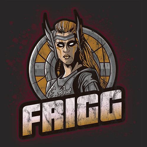 Vintage Distressed Norse Pagan Goddess Frigg Shirt