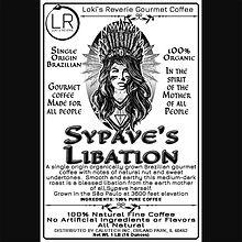 Sypave's Libation 100% Organic Brazilian Pagan Coffee