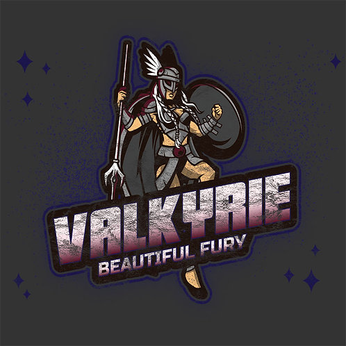Vintage Distressed Norse Valkyrie Viking Shirt