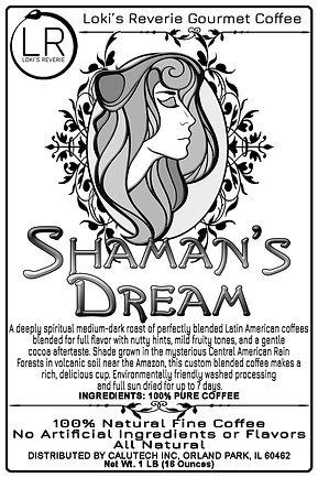 Shaman's Dream Latin American 100% Organic Pagan Coffee