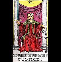 Justice Tarot Shirt