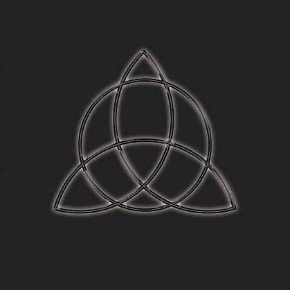 Pagan Triquetra Symbol Shirt