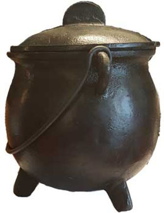 8 Inch Traditional Witches Cauldron