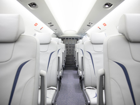 Pilatus Offers PC-24 With 10-Seat Commuter Interior