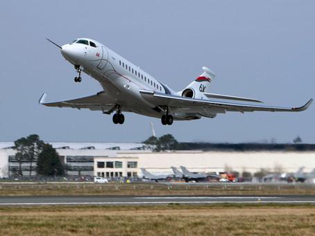 First Flight for Dassault Falcon 6X