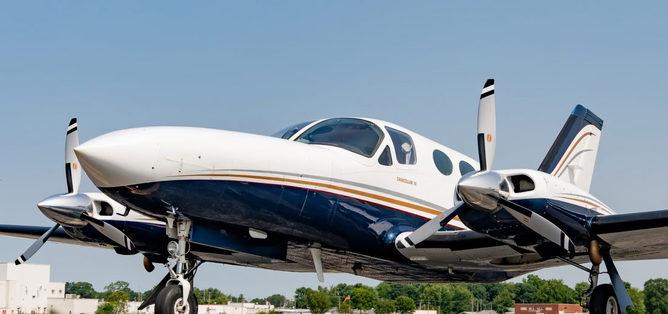 1982 Cessna 414A Chancellor