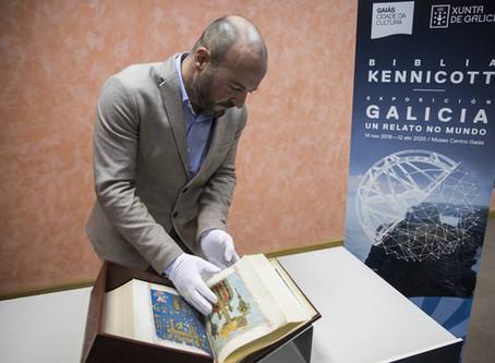 A Biblia Kennicott volve á casa logo de máis de 500 anos