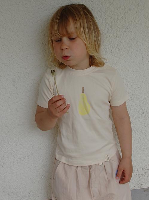 """Pre-Order: Shirt """"Birne"""" 100% Bio-Baumwolle"""