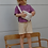 """Thumbnail: Boxy Shirt """"lila"""" 100% Bio-Baumwolle"""