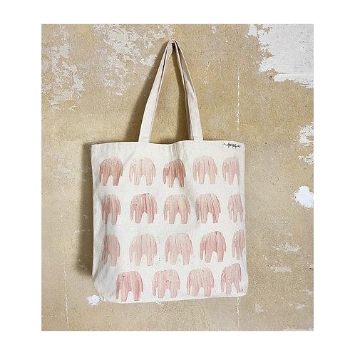 """Canvas-Tasche """"Elefant"""""""