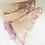 """Thumbnail: HP Musselin-Babytuch """"batik"""""""