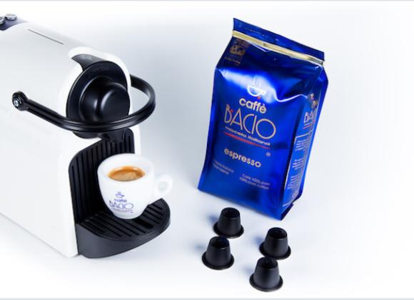 Cápsulas Bacio Espresso, compatibles con nespresso 24 piezas