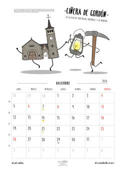 Diciembre - CIÑERA DE GORDÓN
