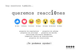 queremos reacc10nes