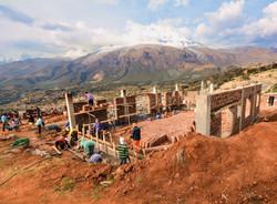 Construyendo el Centro Pastoral