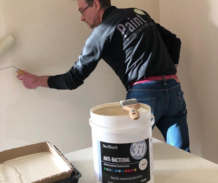 Anti-Bacterial paint