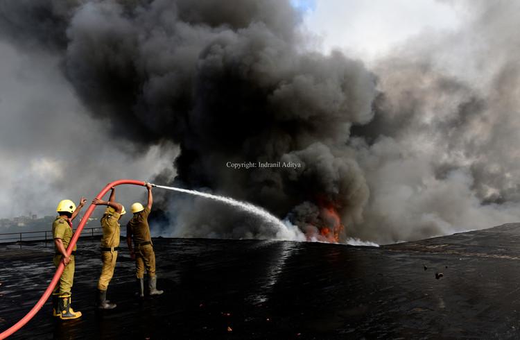 Massive Fire In Kolkata