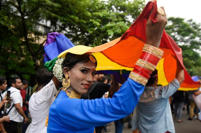 Pride Walk In Kolkata