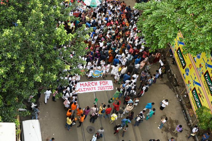 Climate Strike In Kolkata